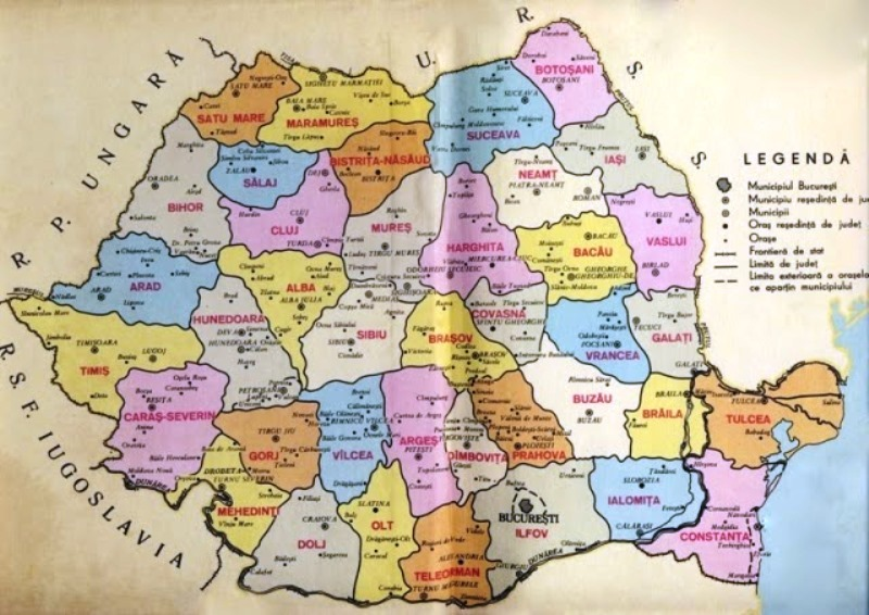 Harta Comunismul In Romania